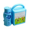 Детска кутия за обяд с разделения и бутилка шише за училище-Аксесоари