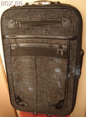 Голям италиански куфар  Ренцо Мети в сиво | Други | Варна
