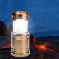 Сгъваем соларен фенер за градина или къмпинг с дръжка-Лов и Риболов