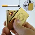 Електронна Еко USB запалка за цигари с лого на  VW, BMW-Тютюневи изделия