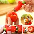 Ръчен уред за чистене на ягоди и домати почистване на дръжки-Дом и Градина