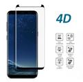 4D стъклен протектор закалено стъкло за Samsung Galaxy S8-Калъфи