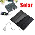 USB соларен панел за зареждане соларно зарядно за телефони-Батерии