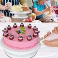Въртяща стойка за торта поставка за декорация на сладкиши-Храни, Напитки