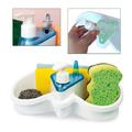 Поставка за гъби с дозатор за веро течен сапун-Дом и Градина