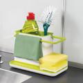 Органайзер за кухня баня разделител за мивка поставка за гъб-Дом и Градина