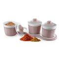 Пластмасови буркани за подправки и сухи храни комплект кутии-Дом и Градина