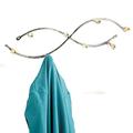 Метална закачалка за дрехи за стена врата баня-Дом и Градина
