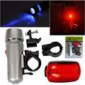 Универсален комплект LED светлини за велосипед фар и стоп-Играчки и Хоби