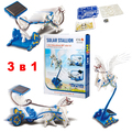 Соларен конструктор 3 в 1 соларна играчка кон Пегас слънчеви-Детски Играчки