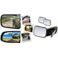 Комплект 2бр. мини странични помощни огледала за автомобил-Части и Аксесоари
