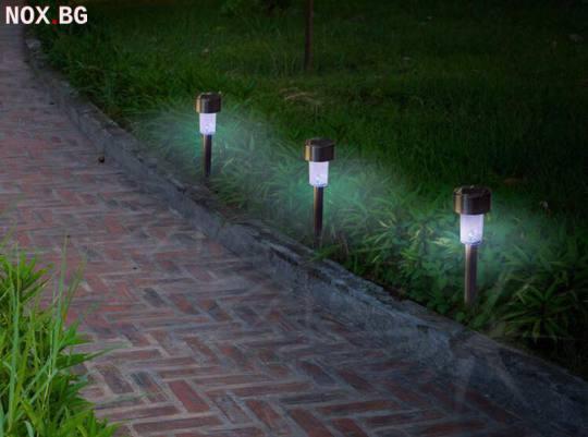 Комплект от 6 броя соларни LED лампи, които ще внесат стил и | Мебели и Обзавеждане | Добрич