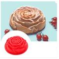 Силиконова форма роза  за печене на сладки мъфини-Храни, Напитки
