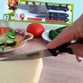Комплект от 3 броя кухненски ножове-Дом и Градина