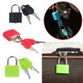 Малък катинар за куфар с два ключа катинар за багаж раници и-Други Аксесоари