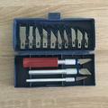 Комплект резци за дърворезба макетен нож инструмент-Дом и Градина