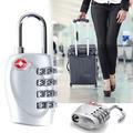Катинар с 4 цифрен код за багаж катинар с шифър за куфари ра-Дамски Чанти