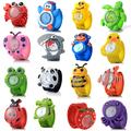 Детски силиконов часовник гривна панда ягодка покемон калинка-Детски Играчки