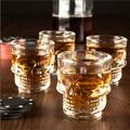 Стъклени шот чаши череп чашки за ракия 4бр/компл. шотове нес-Дом и Градина