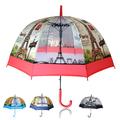 Автоматичен дамски чадър за дъжд стил Paris 8 ребра 80см диа-Други Аксесоари