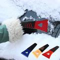 Пластмасова стъргалка за лед с гумена дръжка-Части и Аксесоари