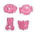 Комплект форми за сладки животни резци за тесто с щампа кост   Храни, Напитки  - Добрич - image 5