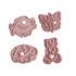 Комплект форми за сладки животни резци за тесто с щампа кост   Храни, Напитки  - Добрич - image 6