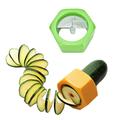 Ренде острилка за краставица резачка прибор за спирали декор-Дом и Градина