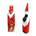 Коледна дреха и шапка за бутилка с пайети-Други