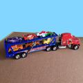 Голям камион автовоз Макуин с 6 колички-Детски Играчки