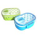 Детска кутия за храна с отделения кутия за обяд с лъжичка-Аксесоари