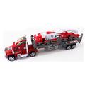 Детски автовоз с две пожарни играчка за момче 43см-Детски Играчки