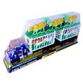 Голям детски камион с две клетки и 5 животни крави тигър лъв-Детски Играчки