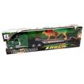 Детска играчка камион платформа с два динозавъра 43см-Детски Играчки