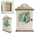 Дървена къщичка за ключове закачалка органайзер поставка за-Дом и Градина