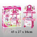 Детска мини кухня със звукови ефекти и светлини 32 части 45с-Детски Играчки