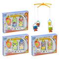 Музикална въртележка за бебешко креватче зайче слонче палячо-Детски Играчки