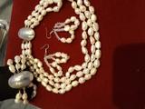 Комплекти с естествена перла-Комплекти