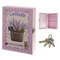 Розова кутия органайзер къщичка за ключове LAVENDER-Дом и Градина