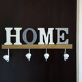 Декоративна закачалка за дрехи HOME подарък за нов дом-Дом и Градина