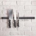 Магнитна лента за ножове с куки за закачане магнитна стойка-Дом и Градина