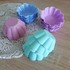Силиконови форми за мъфини Цветенца 6бр формички за мини кекс | Дом и Градина  - Добрич - image 1