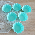 Силиконови форми за мъфини Цветенца 6бр формички за мини кекс | Дом и Градина  - Добрич - image 6