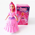 Музикална танцуваща кукла FROZEN със звук и светлина 20cm-Детски Играчки