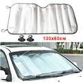 Сенник за предно стъкло на автомобил покривало за кола 130x6-Части и Аксесоари