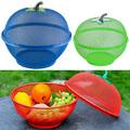 Метална купа с капак за плодове и зеленчуци с форма на ябълк-Дом и Градина