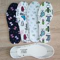 Универсални детски стелки за обувки с принт антибактериални-Аксесоари
