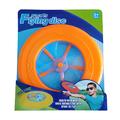 Играчка фризби с отвори пластмасов летящ диск 22.5см-Детски Играчки