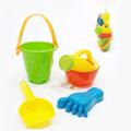 Мини комплект за пясък кофичка за пясък лопатка лейка и крач-Детски Играчки