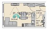 Едностаен апартамент; Бриз, Варна-Апартаменти